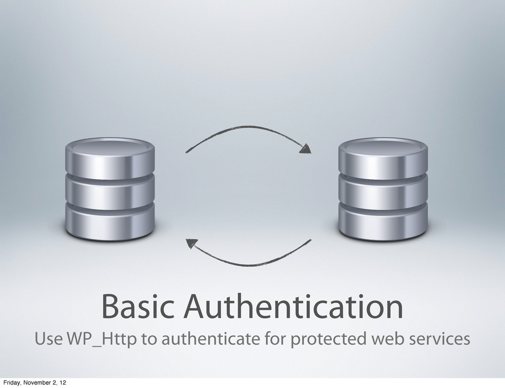 Basic Authentication Use WP_Http to authenticat...