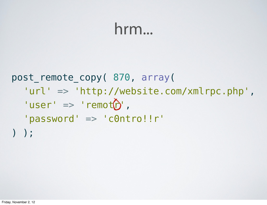 hrm... post_remote_copy( 870, array( 'url' => '...