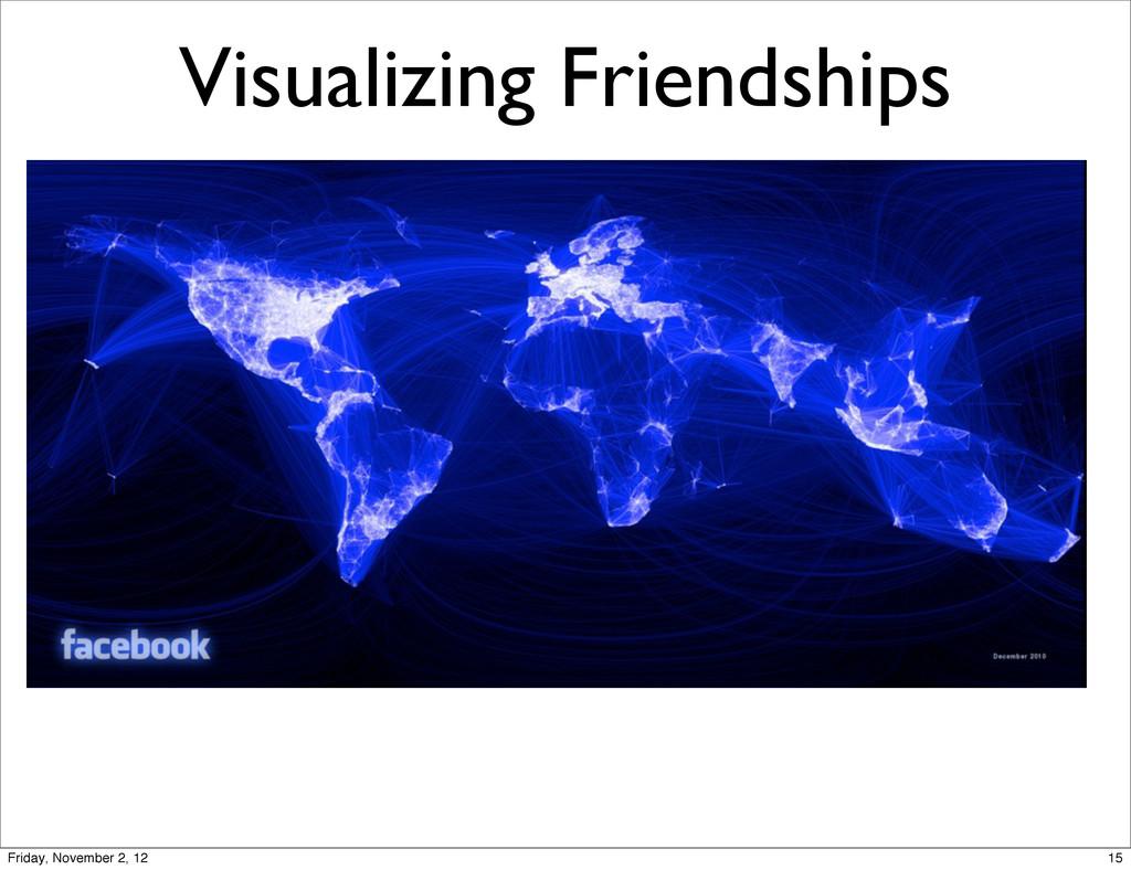 Visualizing Friendships 15 Friday, November 2, ...