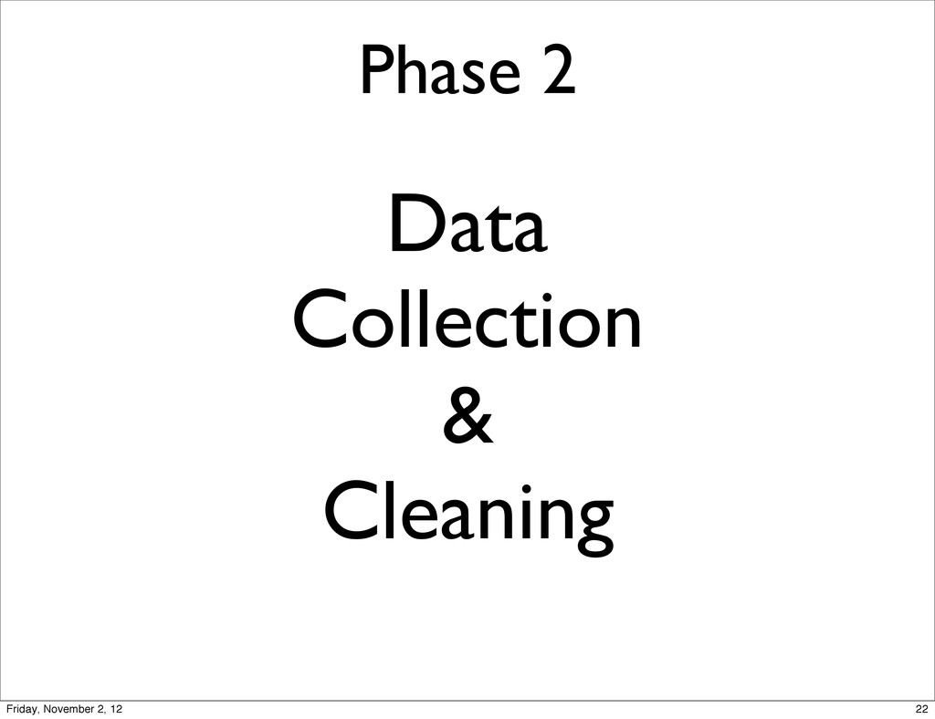Phase 2 Data Collection & Cleaning 22 Friday, N...