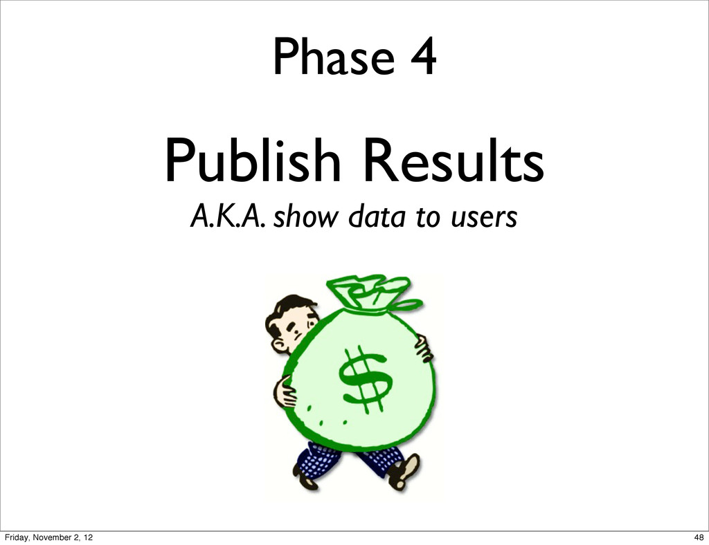 Phase 4 Publish Results A.K.A. show data to use...