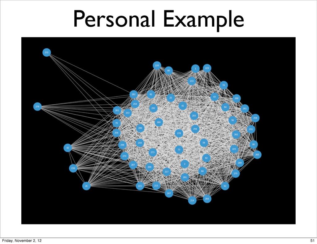 Personal Example 51 Friday, November 2, 12