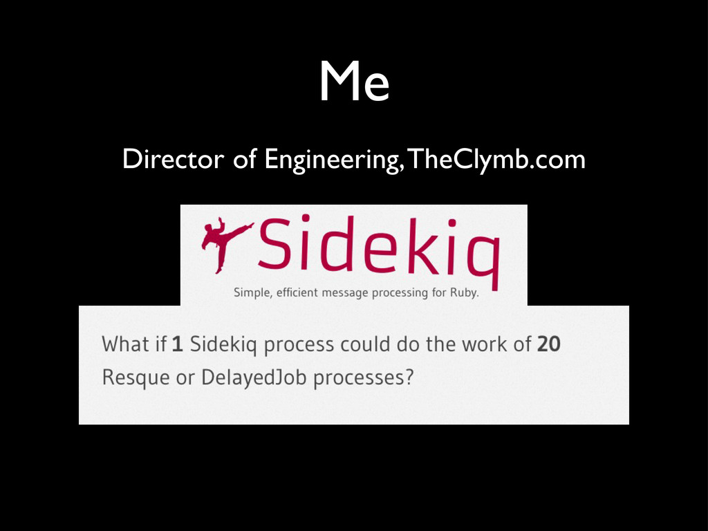 Me Director of Engineering, TheClymb.com