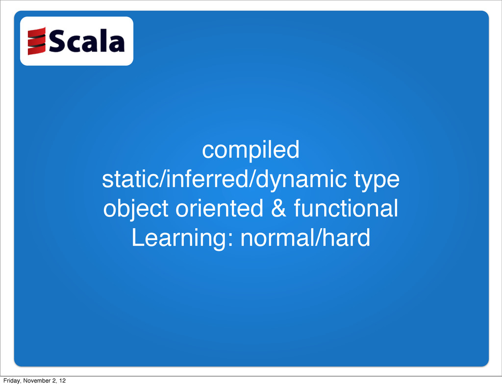 compiled static/inferred/dynamic type object or...