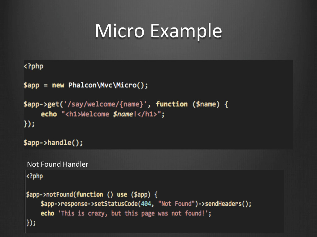Micro Example Not Found Handler