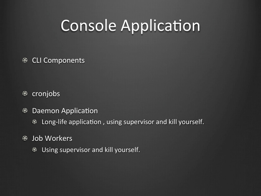 Console	