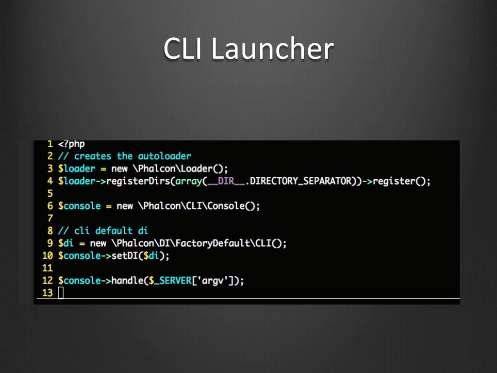 CLI Launcher