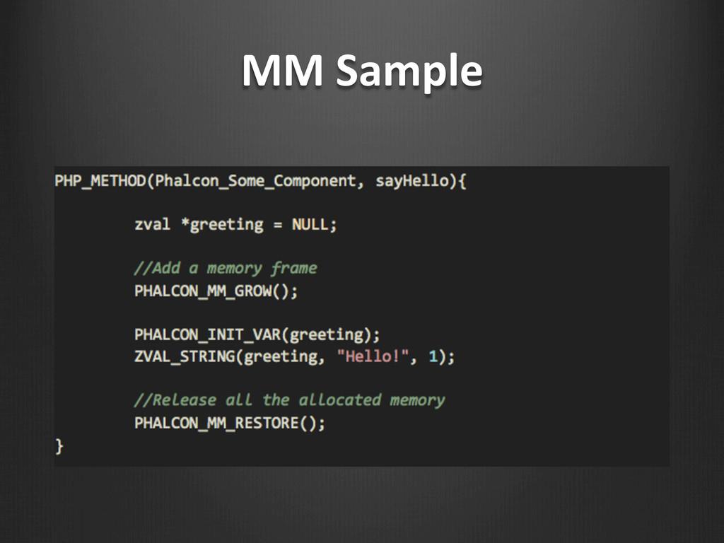 MM Sample