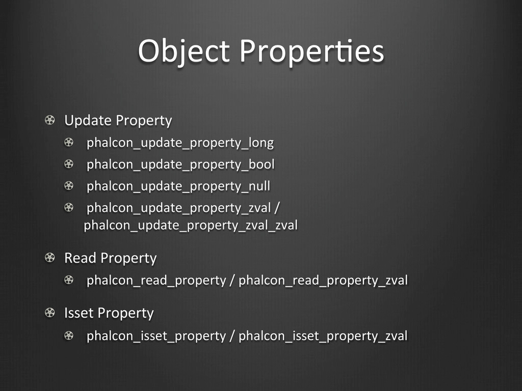 Object	