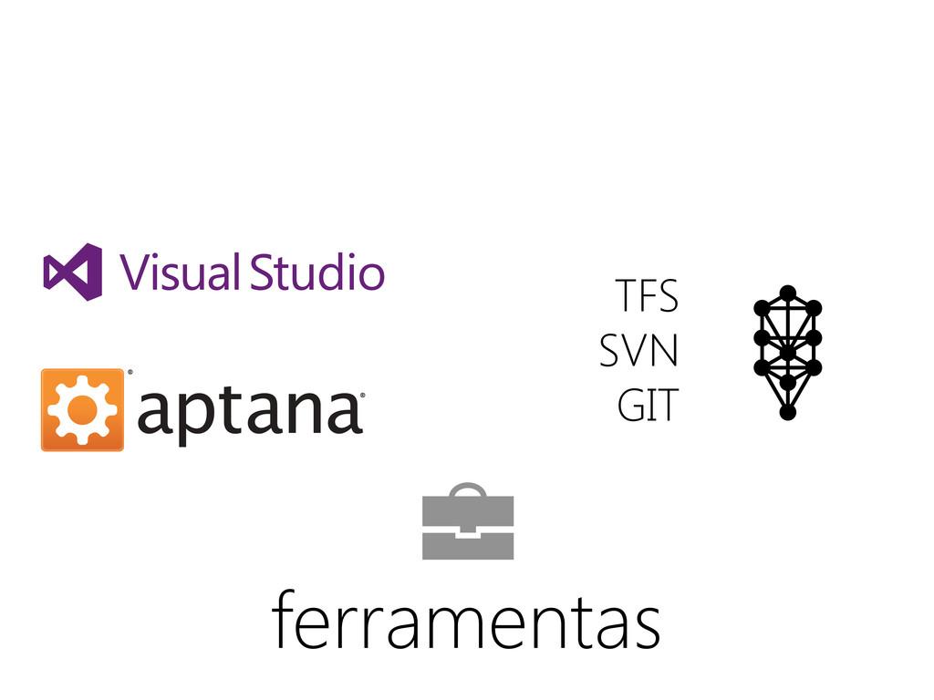 TFS SVN GIT ferramentas