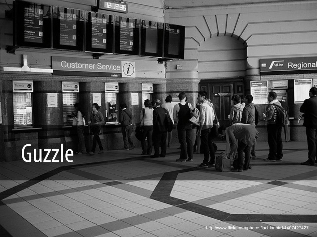 Guzzle http://www.flickr.com/photos/lachlanbird...