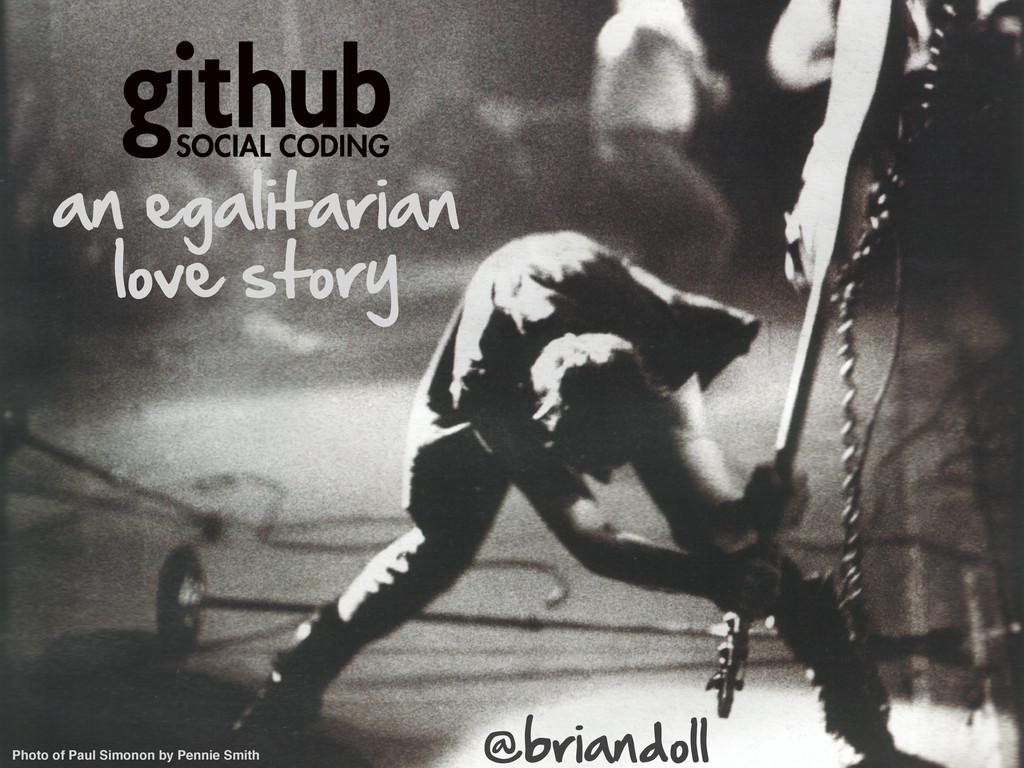an egalitarian love story Photo of Paul Simon...