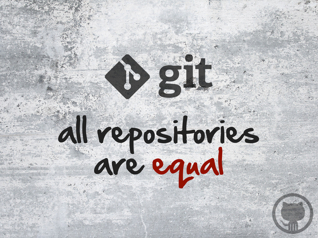all repositories  are equal