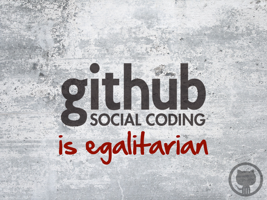 is egalitarian