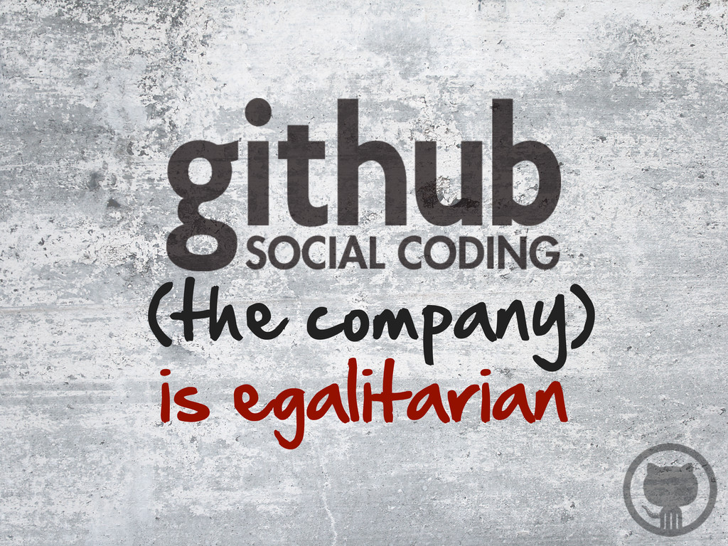 is egalitarian (the company)