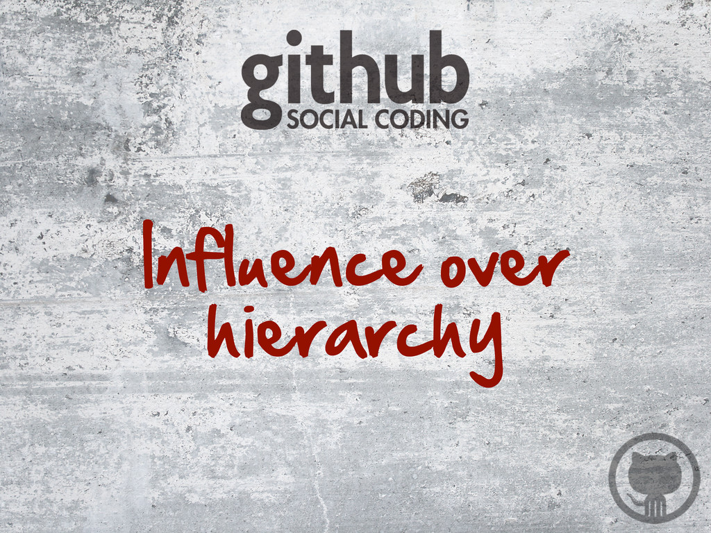 Influence over  hierarchy
