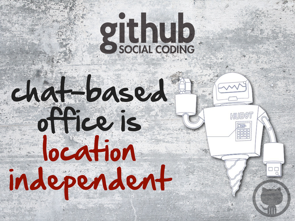 chat-based  office is  location  independe...