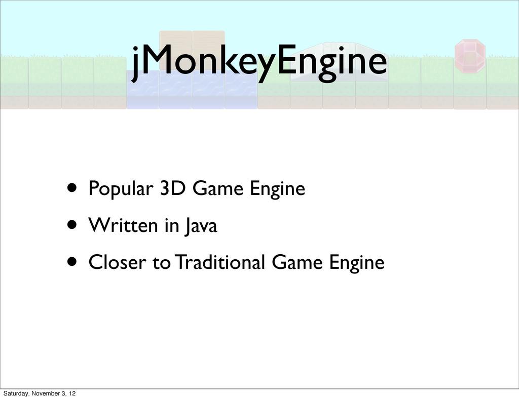 jMonkeyEngine • Popular 3D Game Engine • Writte...