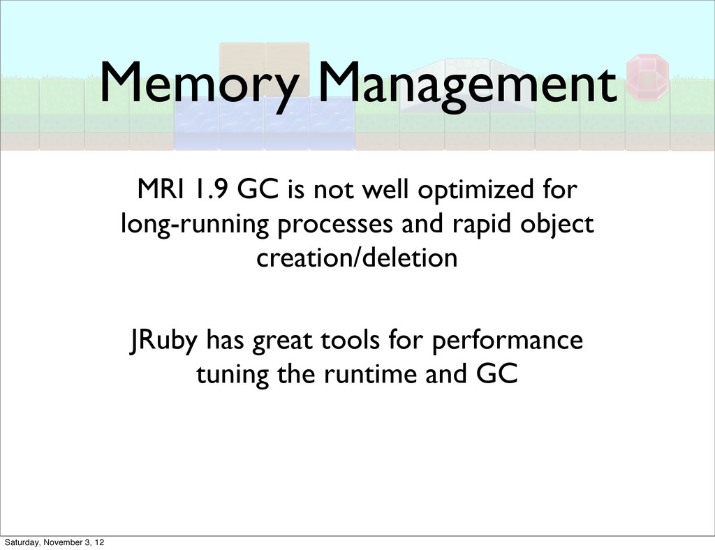 Memory Management MRI 1.9 GC is not well optimi...