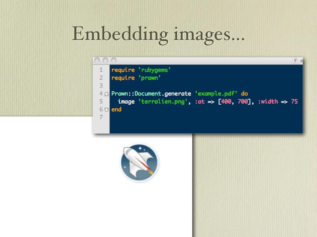 Embedding images...