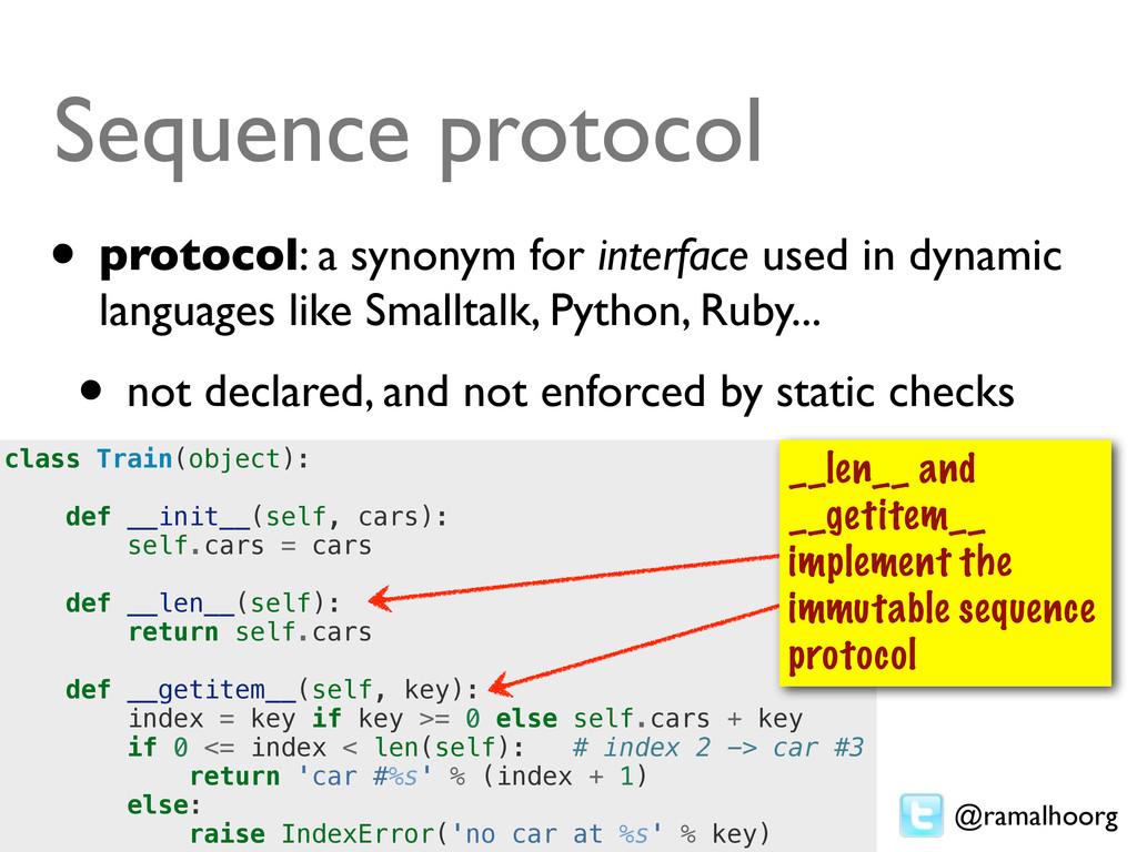 @ramalhoorg class Train(object): def __init__(s...