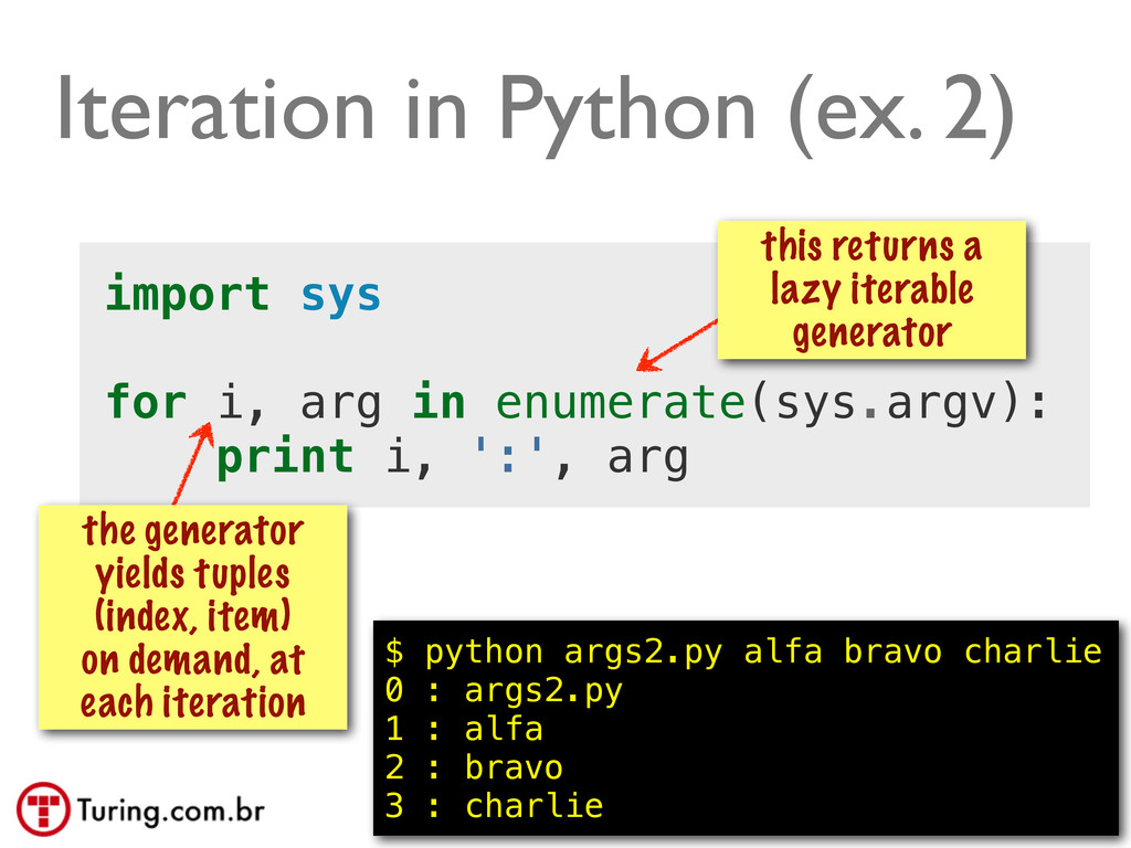 @ramalhoorg Iteration in Python (ex. 2) import ...
