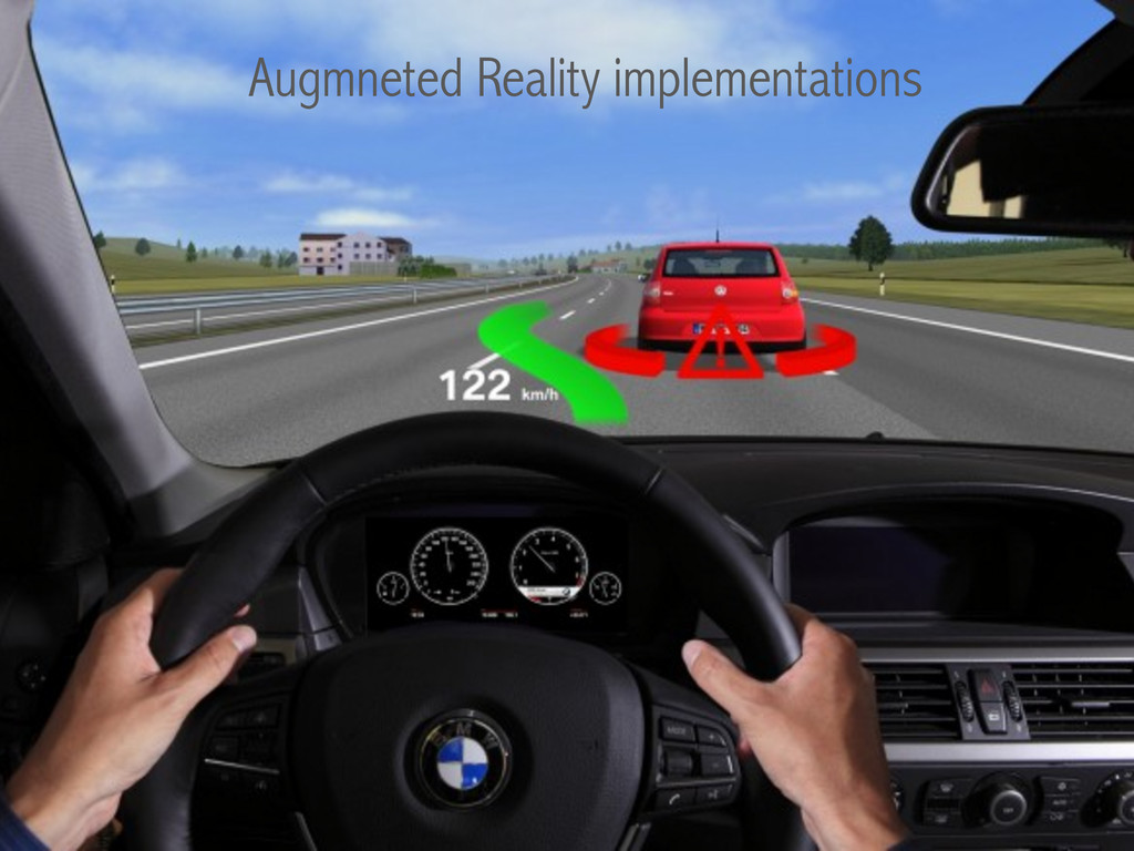 Augmneted Reality implementations