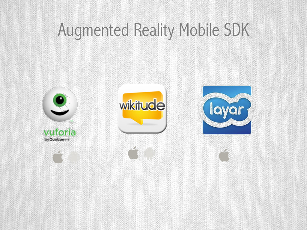 Augmented Reality Mobile SDK