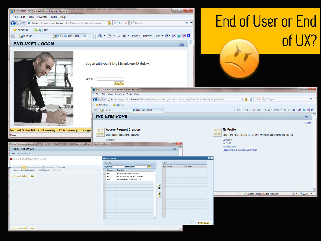End of User or End of UX?