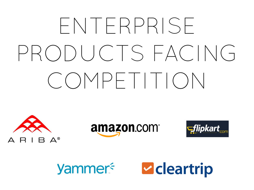 ENTERPRISE PRODUCTS FACING COMPETITION