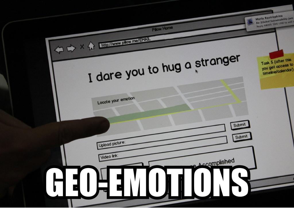 GEO-EMOTIONS