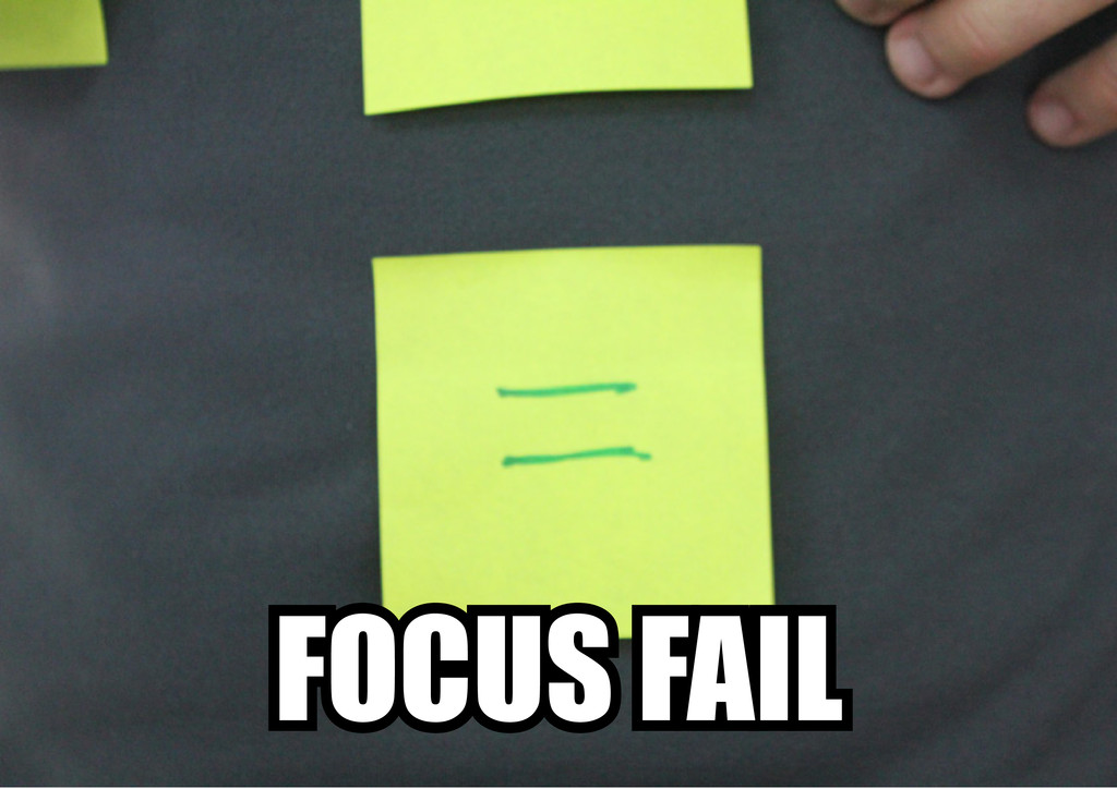 FOCUS FAIL
