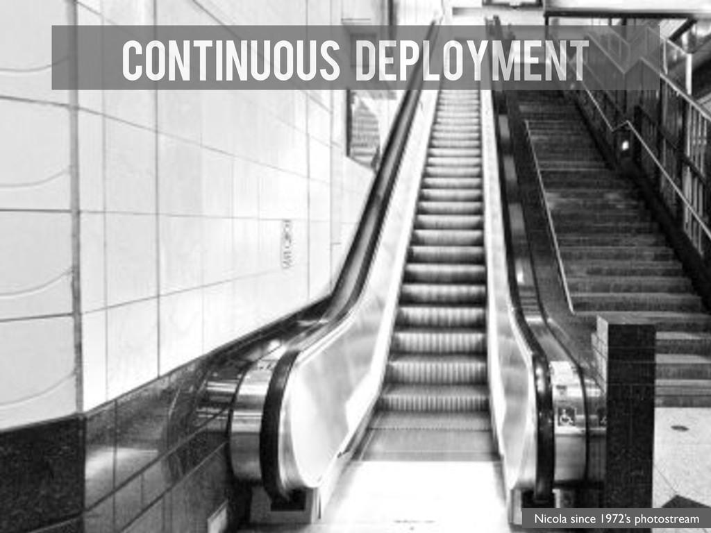 Continuous Deployment Nicola since 1972's photo...