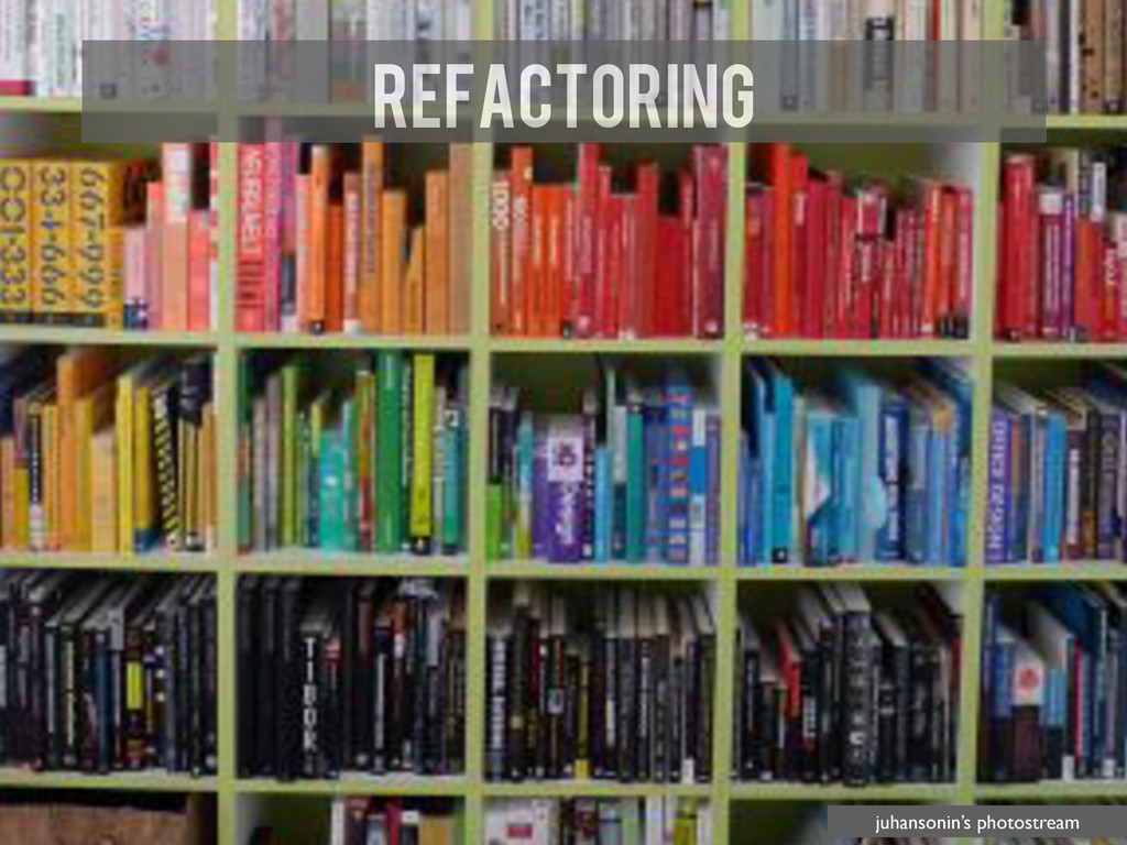 Refactoring juhansonin's photostream