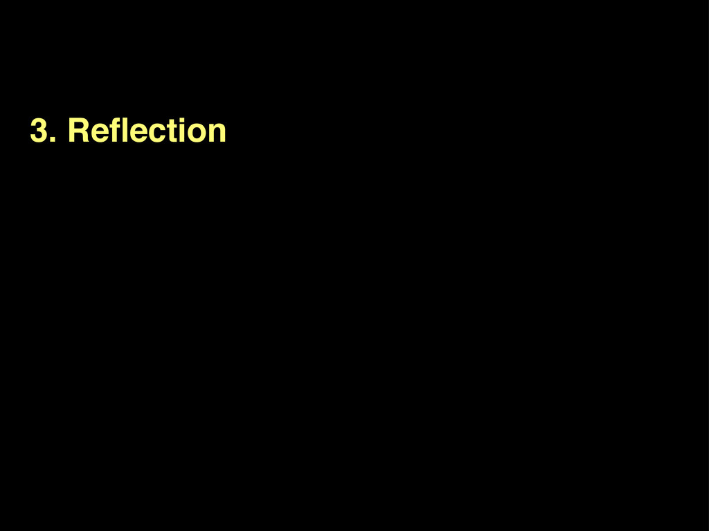 3. Reflection