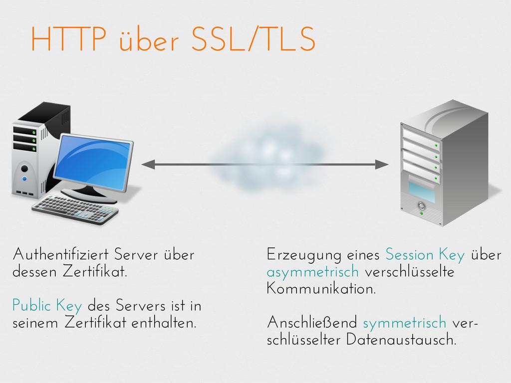 HTTP über SSL/TLS Erzeugung eines Session Key ü...