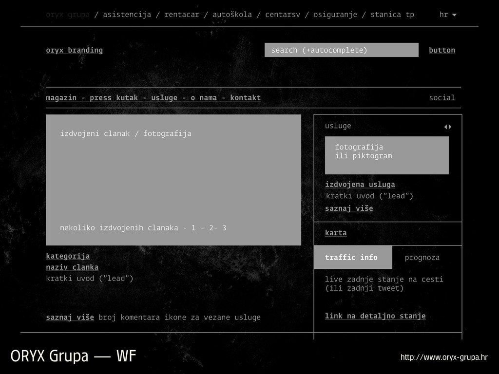 ORYX Grupa — WF h p://www.oryx-grupa.hr oryx br...