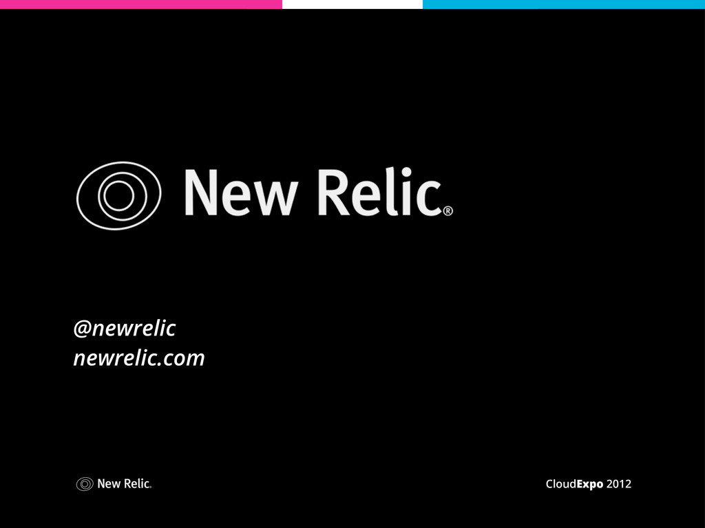 CloudExpo 2012 @newrelic newrelic.com