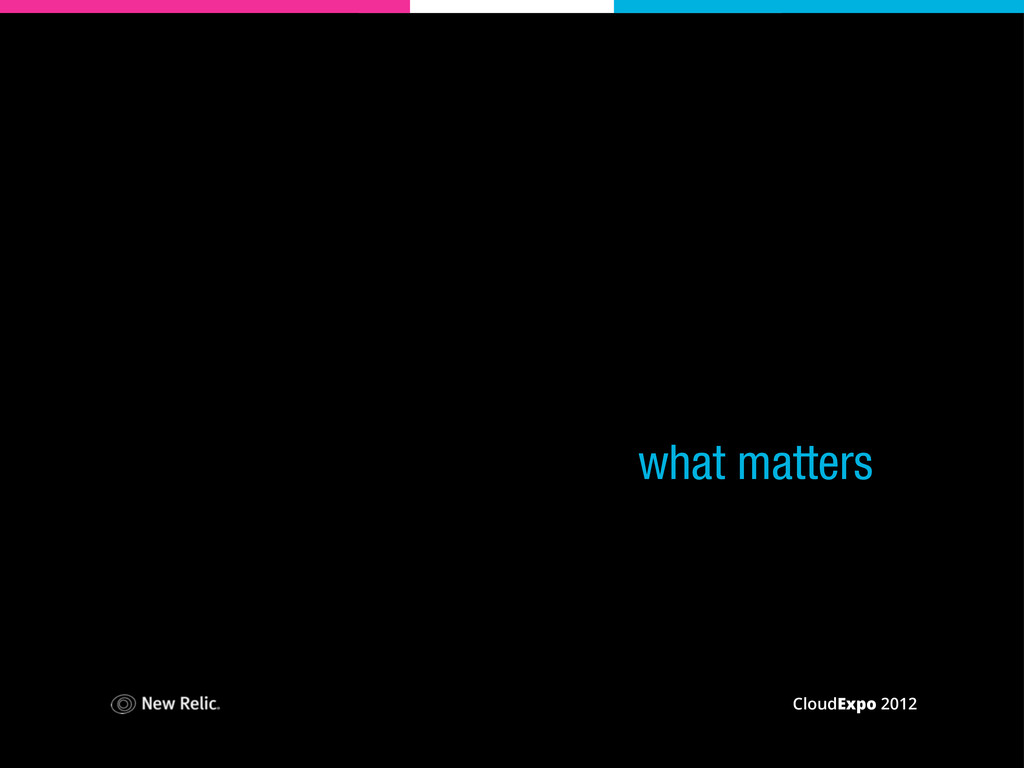 CloudExpo 2012 what matters