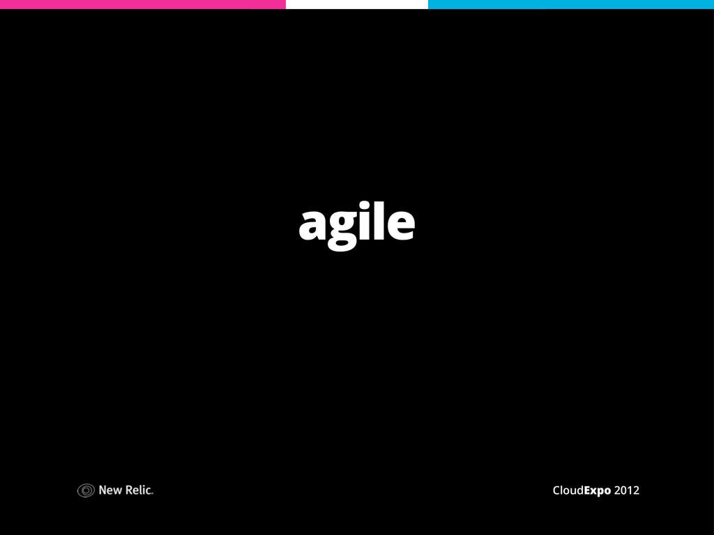 CloudExpo 2012 agile