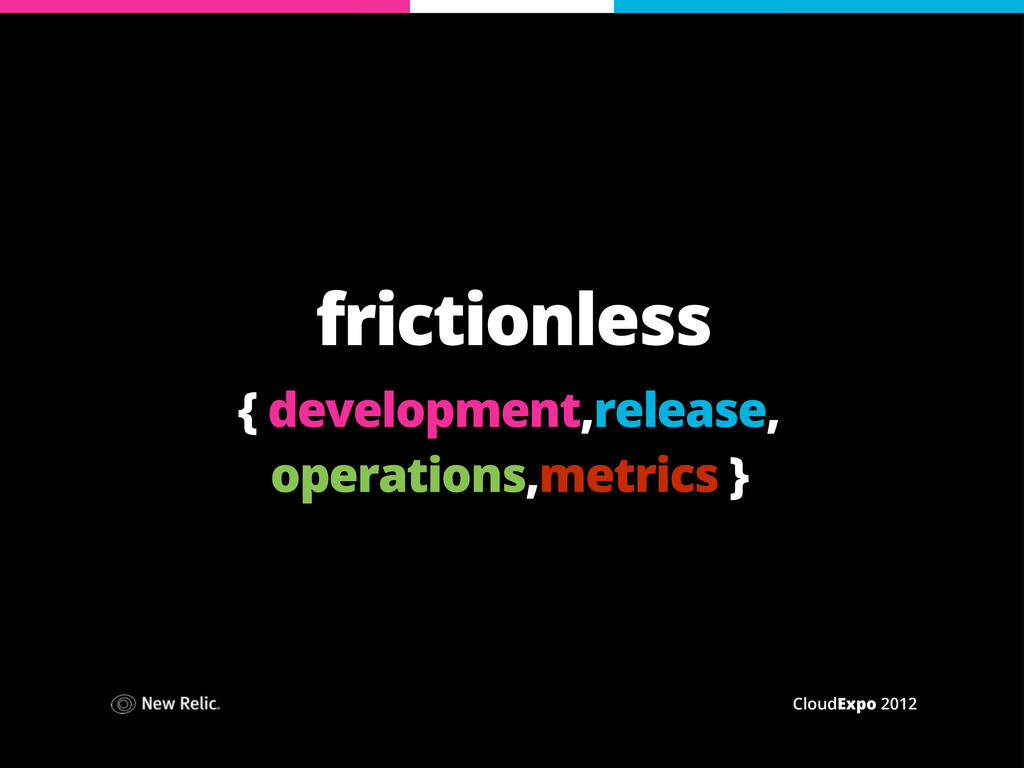CloudExpo 2012 frictionless { development,relea...