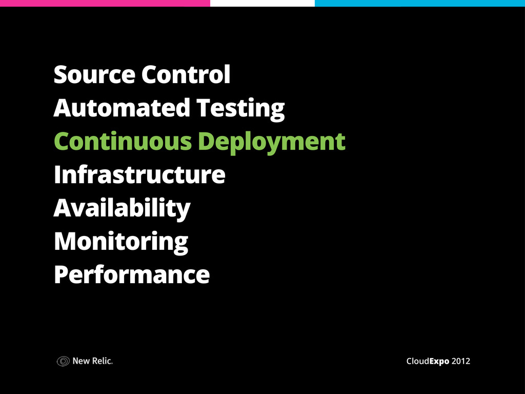 CloudExpo 2012 Source Control Automated Testing...