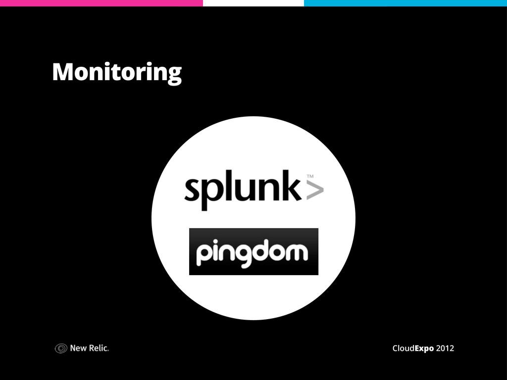 CloudExpo 2012 Monitoring
