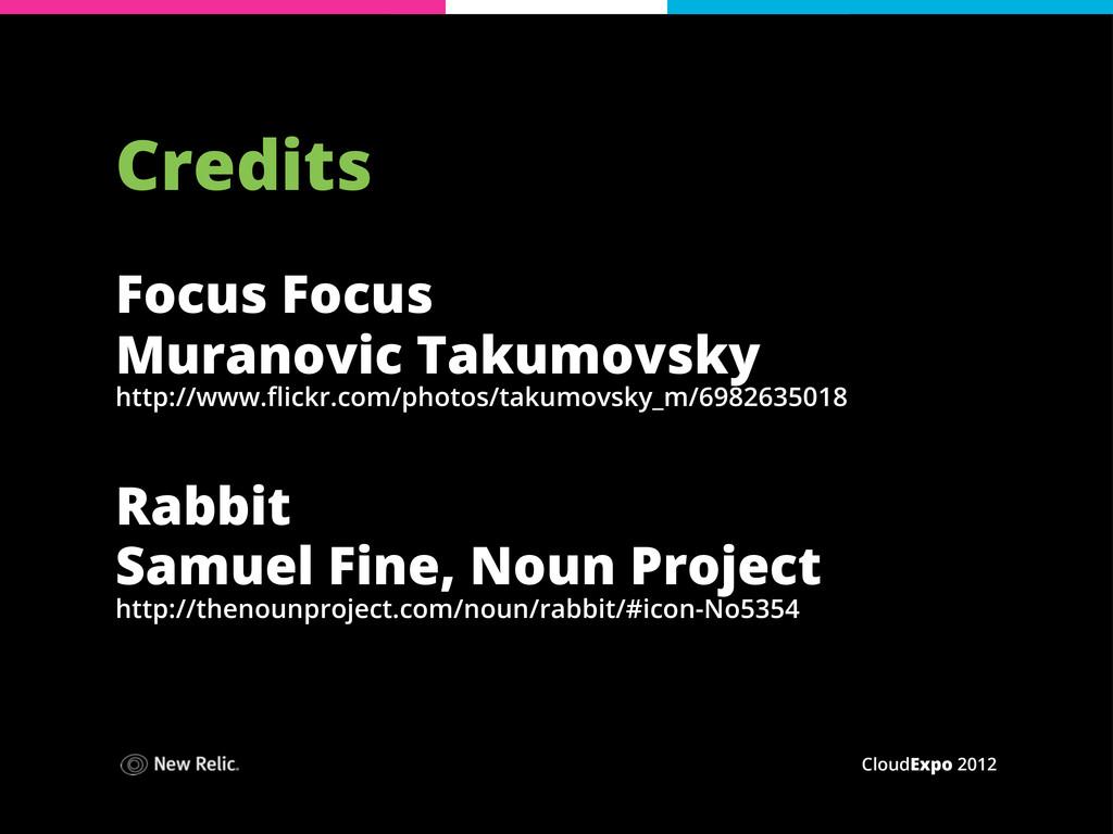 CloudExpo 2012 Credits Focus Focus Muranovic Ta...