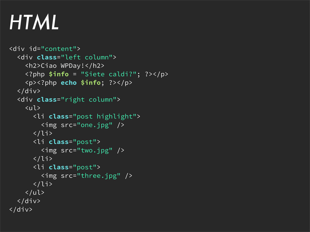 "<div id=""content""> <div class=""left column""> <h..."