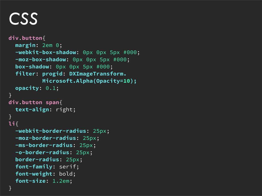div.button{ margin: 2em 0; -webkit-box-shadow: ...