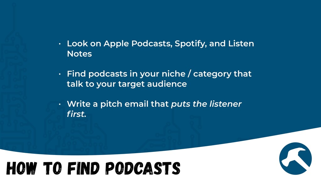 How to Find Podcasts • Look on Apple Podcasts, ...