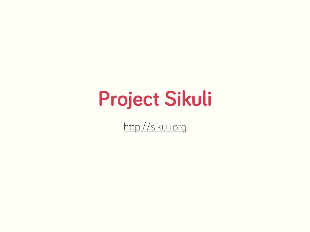 Project Sikuli http://sikuli.or