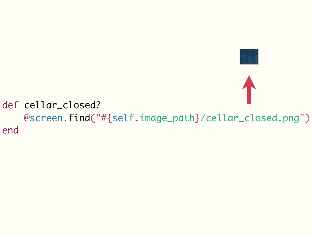 "def cellar_closed? @screen.find(""#{self.image_p..."