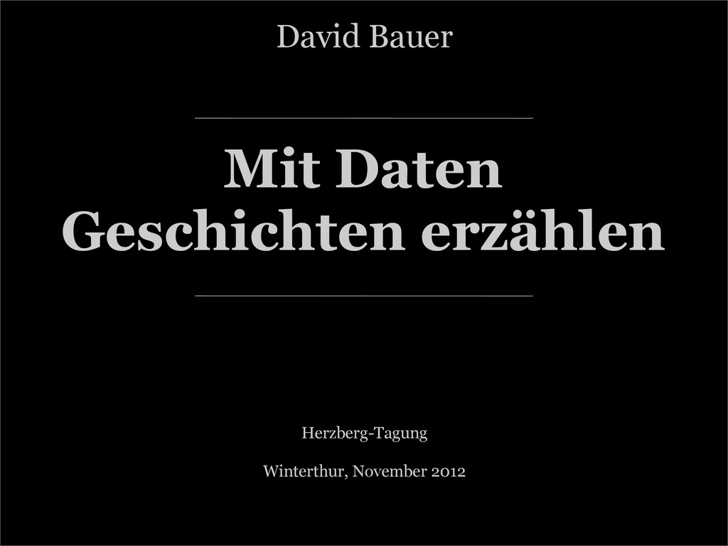 :: Mit Daten Geschichten erzählen Herzberg-Tagu...